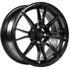 15x8 Advanti Racing StormS2 4x100 +25 Black Rims Fits Corolla Golf Passat Cabrio