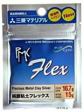 PMC FLEX SILVER CLAY 16.7 g pack  Brilliant NEW Product: Stays Flexible!!