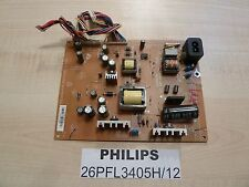 Power supply board for LED TV Philips 26PFL3405H/12   715G3924-P1A-W20-002U