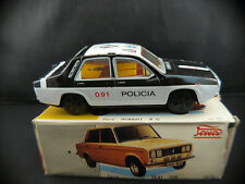 Paya n° 8302 Renault 12 Policia voiture en tôle friction ancien 1/32 cm tin toy