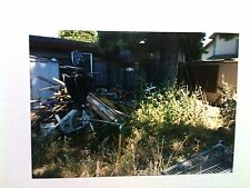 Vintage 90s Photo Hoarders Backyard Air Express Fitness Training Bicycle Debris