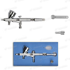Dual Action Airbrush Kit 0.2mm Needle Air Brush Spray Gun Model Tattoo Nail Art
