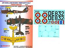 KORA Decals 1/48 DE HAVILLAND D.H.82 TIGER MOTH Mk.II Vichy French FAFL