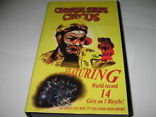 CHINESE STATE CIRCUS (1997) V.RARE VHS VIDEO - 14 Girls on 1 Bicycle