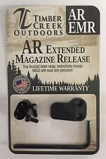 TIMBER CREEK OUTDOORS - CERAKOTE URBAN GREY - EXTENDED MAGAZINE RELEASE - EMR