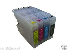 Refillable ink cartridge for Brother LC75 MFC-J6710DW MFC-J825DW MFC-J835DW