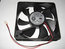 CoolMax/T&T 120mm x 25mm Power Supply Replacement Fan 2 Pin 1225L12S-ND3