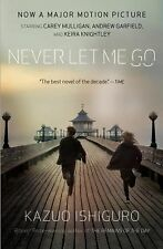 Never Let Me Go by Kazuo Ishiguro a paperback novel  book ** FREE SHIPPING **