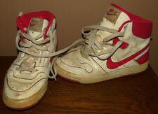 Vintage White/Red 1980s NIKE Delta Force OG Sneakers Sz- 5 Made In Korea RARE