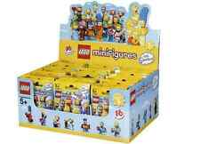 LEGO NEW SIMPSONS 2 SEALED CASE BOX OF 60 MINIFIGURES MINIFIGS 6100812