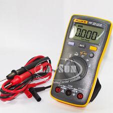 FLUKE 107 Digital Voltage Resistance Capacitance Multimeter AC/DC Volts Meter