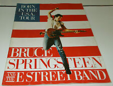 BORN IN THE U.S.A BRUCE SPRINGSTEEN AND THE E STREET BAND BOOK 1984