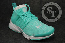 NIKE WOMENS AIR PRESTO FLYKNIT ULTRA 835738-301 HYPER TURQUOISE WHITE SIZE: 6
