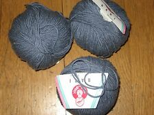 WINTER-COTTON by STAHL WOLLE - 9 sk GREY BLUE - 684 y total - Hvy wrstd ctn blnd
