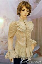 1/3 BJD 80-90cm tall Male Doll IOS 80 outfit Beige Color Gothic Shirt ship US