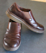 Dr. Martens Robson Orson Plain Toe Slip On LOAFER BROWN LEATHER Shoe size US 11M