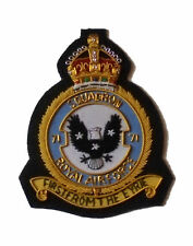 US Volunteer Royal Patch RAF Fighter Eagle Squadron 71 Air Force USA Wing War UK