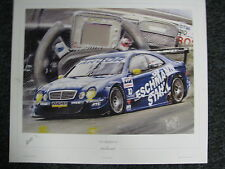 Litho The Silver Dream Collection by Hesselbes Mercedes CLK DTM 2001 #10 (JS) ng
