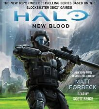 Halo: New Blood by Matt Forbeck (2016, CD, Unabridged)