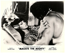 MACISTE THE MIGHTY ORIGINAL LOBBY CARD MARK FOREST CHELO ALONSO SON OF SAMSON