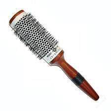 Head Jog Brushes Ceramic Wooden Radial Brush (58) 43mm with Grip Handle