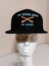 Fort Abraham lincoln 7th Cavalry Mesh Trucker Snapback