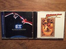 John Williams [ 2 CD Alben ] Indiana Jones and the Last Crusade + E.T.