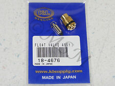 80-82 YAMAHA SR250 EXCITER NEW K&L FLOAT VALVE NEEDLE & SEAT ASY 18-4676