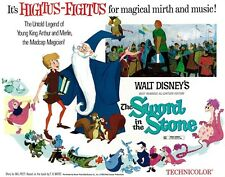 Walt Disney's Sword In The Stone movie poster print - 11 x 14 inches