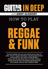 GUITAR IN DEEP HOW TO PLAY REGGAE & FUNK  - GUITAR METHOD DVD