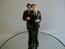 New Male Gay Same Sex Marriage  Cake Topper Civil Ceremony Wedding