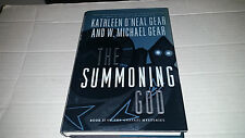 The Summoning God by W. Michael Gear and Kathleen O'Neal Gear (2000) SIGNED x 2