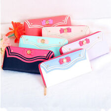 1PC Sailor Moon Luna Purse Bow Designer Female Long Wallet Mother's Day Gift