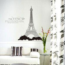 Eiffel Tower Home Decor Wall stickers Decal Vinyl Wall Art Removable Mural Paris