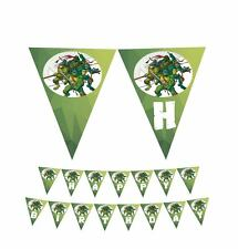 Ninja Turtles PRINTABLE PDF File Happy Birthday Banner