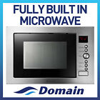 NEW 32L PREMIUM FULL BUILT IN MICROWAVE GRILL AND CONVECTION OVEN
