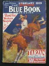 "Blue Book - Ultra High Grade Set of Burroughs ""Tarzan and the Lost Empire"""