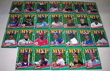 DONRUSS 1990 BASEBALL MVP 26 CARD SET LOT GRIFFEY CLEMENS BRETT HENDERSON NICE