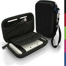 Schwarz Hart Tasche Schutzhülle fur Nintendo 3DS XL 3DSXL Alle Version Etui Case