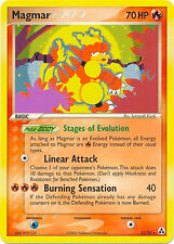 Magmar Rare Pokemon Card EX-Legend Maker 21/92