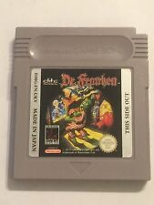 NINTENDO GAMEBOY GAME BOY GB NGB FRANKENSTEIN GAME CARTRIDGE ONLY DR. FRANKEN