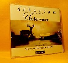 MAXI Single CD Delerium Featuring Rani Underwater 3TR 2001 Trance, House