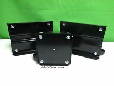 Arctic Cat Black Aluminum Snowmobile Cat Caddy Sled Dollies Dolly 4639-766