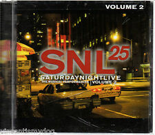 SATURDAY NIGHT LIVE - THE MUSICAL PERFORMANCES volume 2 (CD)