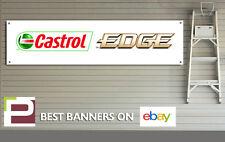 Castrol Edge Motor Oil Banner for Workshop, Garage, Motorsport