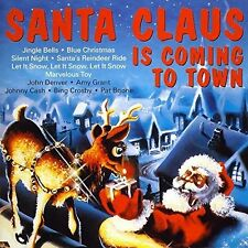 Santa Claus is coming to Town John Denver, Amy Grant, Johnny Cash, Pat Bo.. [CD]