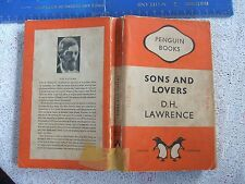 1940's (Early Edition) PENGUIN: SONS & LOVERS By D.H.LAWRENCE. Good Cond.