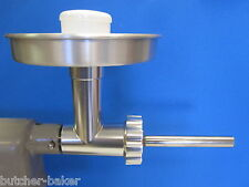 Metal Meat Grinder Kit Food Mincer Chopper Attachment for Kitchenaid Mixer