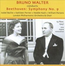 Bruno Walter Conducts Beethoven:  Symphony No. 9, New Music