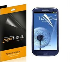 6 pc Clear Screen Protector Guard for Samsung Galaxy SIII S3 i9300T999/i535/L710